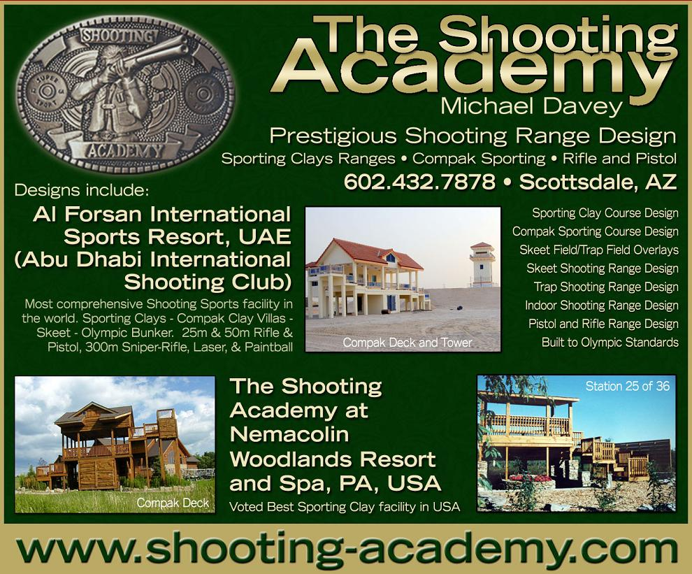 Outdoor Shooting Range Design Plans http://shooting-academy.com/